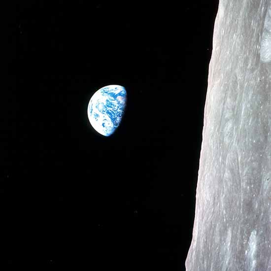 NASA - Apollo 8 Mondumrundung Nummer 4